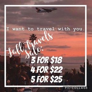 🥰 Buy More Save More ✈️ Fall Travels Sale ✈️